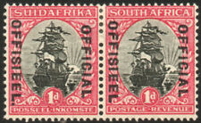 South Africa Official 1930-47 1d STOP VARIETY on Afrikaans, SG.O13b, VFM cat.£40