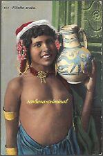 AK - LEHNERT & LANDROCK - Nr. 693 - Fillette arabe - HAREM - AFRIKA - MAGHREB
