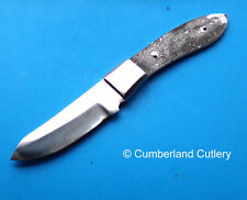 Knife Making Blade Blank with Stainless Finger Guard