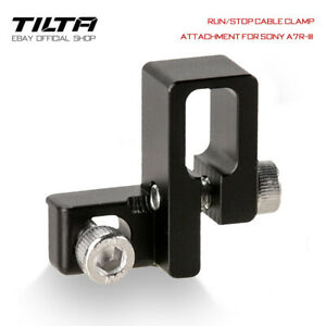 Tilta Run/Stop Cable Clamp Attachment Kabelklemme für Sony a7S III Camera Cages