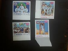 Yemen set of 4 unmounted mint stamps Space Exploration