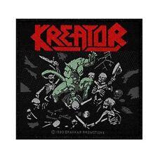 """Kreator"" Pleasure to Kill Death Metal Band Thrash Music Sew On Applique Patch"