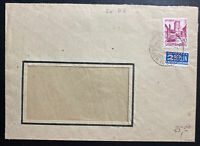1949 Wurttemberg Germany Allied occupation commercial Cover Tax Stamp