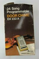 Vintage Programmable 24 Song Door Chime EH 222 A Ectronix Apollo