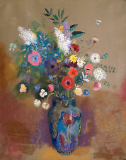 Odilon Rendon Reproductions: Bouquet of Flowers - Fine Art Print