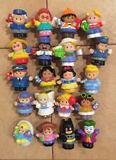 Fisher Price Little People Bulk Lot Of 20 People Free Express Post.
