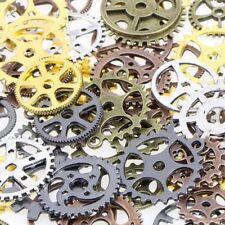 68 Pieces Lot Vintage Steampunk Wrist Watch Parts Gears Wheels Steam Punk 100g