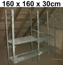 Lagerregal Fachbodenregal H2500*T400*L900-1500 mm 5 Böden Grund-//Anbaufeld