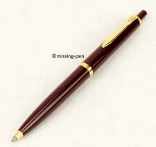 Vintage Reform Ballpoint Pen Made in W.- Germany in Burgundy Red