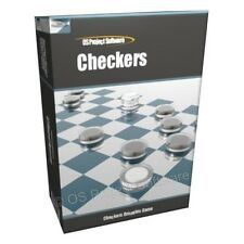 Checkers Draughts Board Game Computer Software Program