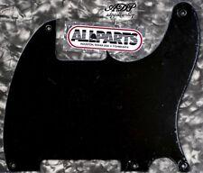 """Pickguard Esquire  All Parts US 1 ply 5 trous Noir Black .060"""" PG0567-023"""