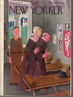 1944 New Yorker August 12 - Monks see the pin-ups in Italy