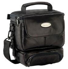 CULLMANN GRANADA Twin 1 DV bag black soft leather for camera camcorder cheap