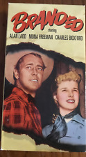 BRANDED ALAN LADD MONA FREEMAN CHARLES BICKFORD RARE NTSC VIDEO FOR USA PLAYERS