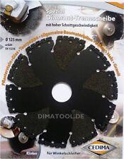 1x 125mm Cedima Universal Diamanttrennscheibe AR-Multicut für Winkelschleifer