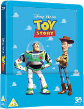 TOY STORY Blu-Ray Steelbook 3D + 2D with lenticular magnet NEW Free Ship