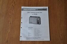 Panasonic R-1158  Radio Genuine Service Manual. R 1158