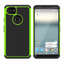 """For Google Pixel 2 XL (6 """") - Shockproof Hybrid Heavy Duty Hard Tough Cover Case"""