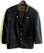 Señores Trachten janker chaqueta verde azulado talla 48 V. canda
