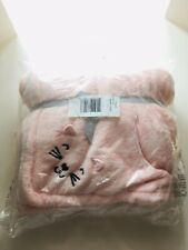 Carters Pink Little Baby Blanket One Size