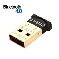 USB 2.0 Bluetooth 4.0 CSR4.0 Adapter Dongle for PC Laptop Win XP Vista 7 8 HOT