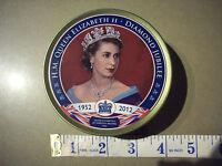 Queen Elizabeth II Diamond Jubilee Sweet Tin, Royal Collectable