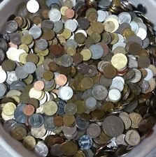 Lot 1 Pound / Libra / 454 Grams Of Mixed Foreign World Coins Free Shipping