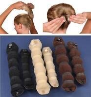 2pcs Sponge Hair Styling Bun Maker Tool Donut Former ring Shaper Magic Styler