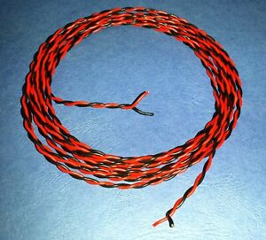 7/0.2mm Wire Twisted Pairs  .... 3 Metres Long