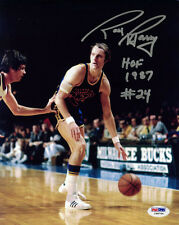 Rick Barry SIGNED 8x10 Photo +HOF 1987 Golden State Warriors PSA/DNA AUTOGRAPHED