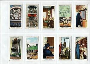 1930's WILLS CIGARETTE CARDS RAILWAY EQUIPMENT - FULL SET 50/50 - EXCELLENT