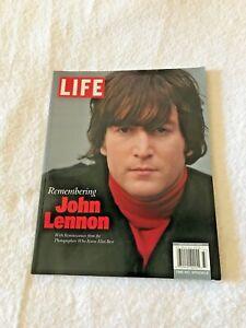 """Life Magazine """" Remembering John Lennon """" 2013.      Brand New"""