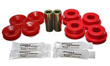 Energy Suspension Shock Upper/Lower Bushing Set 16.8103R Red Rear Upper / Lower