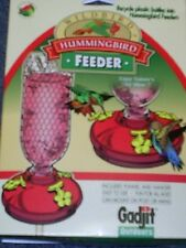 Gadjit Hummingbird Feeder Attachments To Recycle Soda Pop Bottle, #18133 *dm