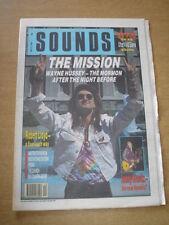 SOUNDS 1990 MAY 19 MISSION LENNY KRAVITZ NEDS ATOMIC DUSTBIN BIG COUNTRY