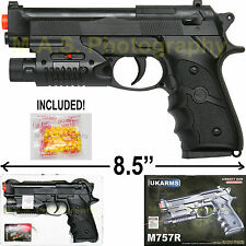 "8.5"" BERETTA AIRSOFT PISTOL GUN POINTING LASER UKARMS M757R BB NEW IN BOX"