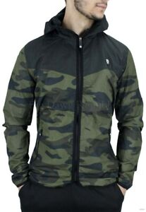 D-Rock, Men's Designer Windbreaker Jacket, Camouflage, Raincoat, New Star, G Era