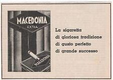 Pubblicità 1932 SIGARETTE MACEDONIA CIGARETTES SMOKE advert werbung publicitè