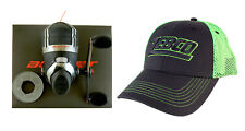 Zebco Bullet 5.1:1 Gear Ratio 9 Bearing Spincast Fishing Reel With Hat