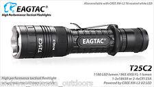 Eagletac T25C2 Cree XP-L LED Flashlight 1250 Lumens - Upgraded 10% brighter