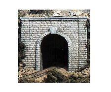 Woodland Scenics C1153 2 x Single Track Cut Stone Portals 1:160 Scale / N Gauge
