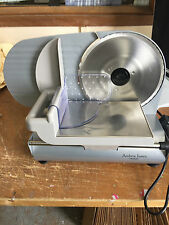 ANDREW JAMES LARGE ELECTRIC PRECISION FOOD SLICER, (COSMETIC MARKS)