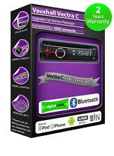 OPEL VECTRA C DAB Radio , Clarion stéréo Bluetooth Plays AUX USB Smartphone