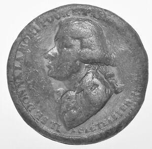 RARE FRANCE, GENERAL BONAPARTE FRENCH REV. TRIBUTE TO LETELLIER 1795, 41mm MEDAL
