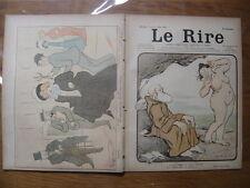 09/03/1901 LE RIRE 331Cappiello Abel Faivre Benjamin Rabier
