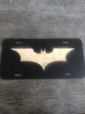 Heavy Metal Batman License Plate