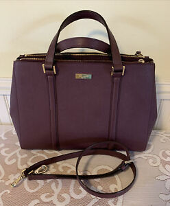 Kate Spade Safiano Leather Crossbody Handbag