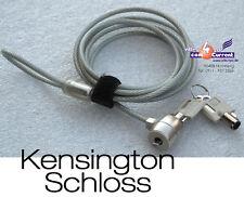 Kensington Lock Blocco di sicurezza F. LCD PROIETTORE NOTEBOOK con 2 CHIAVI
