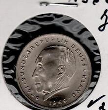 2 DM  Adenauer  BFR/stgl Sie Wählen ab 1969- bis 1973- ab 5 auktionen portofrei