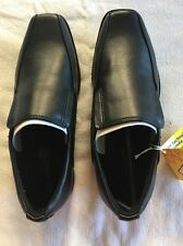 Smart fit Kids Dress School Wedding Black Loafer Shoe